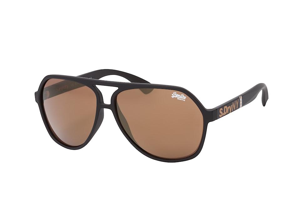 Ultrastacker 127, Aviator Sonnenbrillen, Schwarz