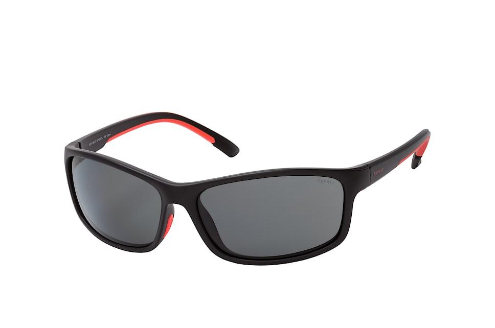 ET 19645P 538, Sporty Sonnenbrillen, Schwarz