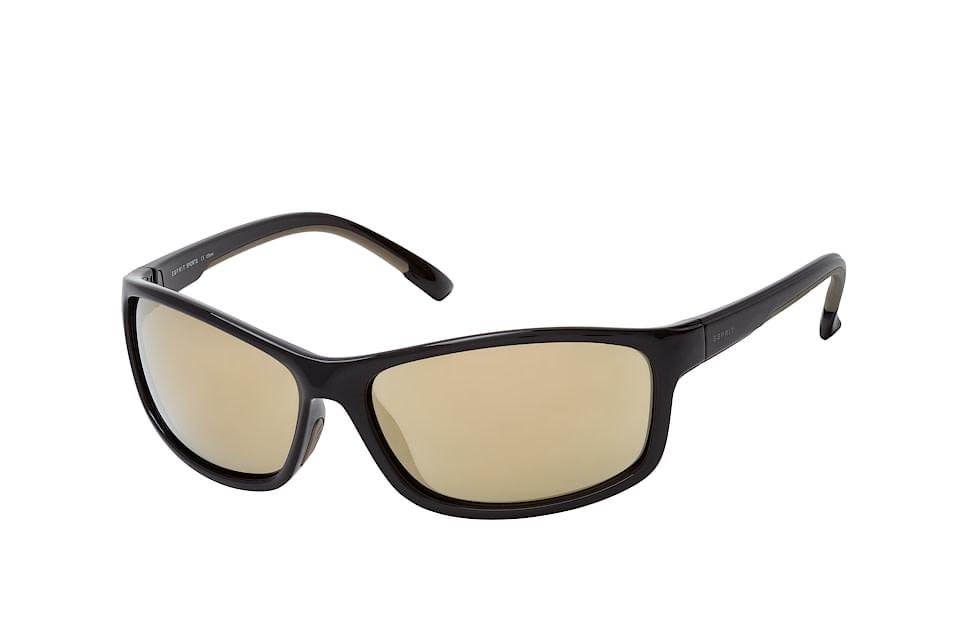ET 19645 538, Sporty Sonnenbrillen, Schwarz
