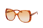 Gucci GG 0472S 001 Havana / Orange perspective view thumbnail
