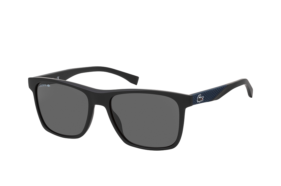 L 900S, Rectangle Sonnenbrillen, Schwarz