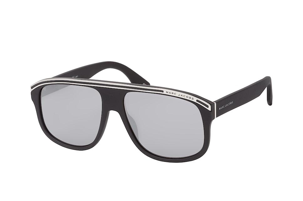 Marc 388/s, Rectangle Sonnenbrillen, Schwarz