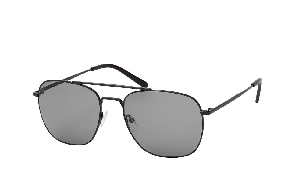 Lewis 2088 001, Aviator Sonnenbrillen, Schwarz