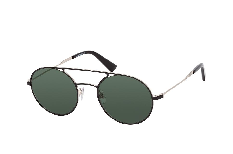 DL 0301, Round Sonnenbrillen, Schwarz