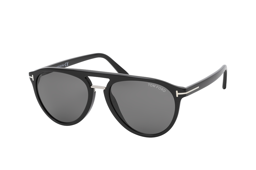 TOM Ford FT 0697, Aviator Sonnenbrillen, Schwarz