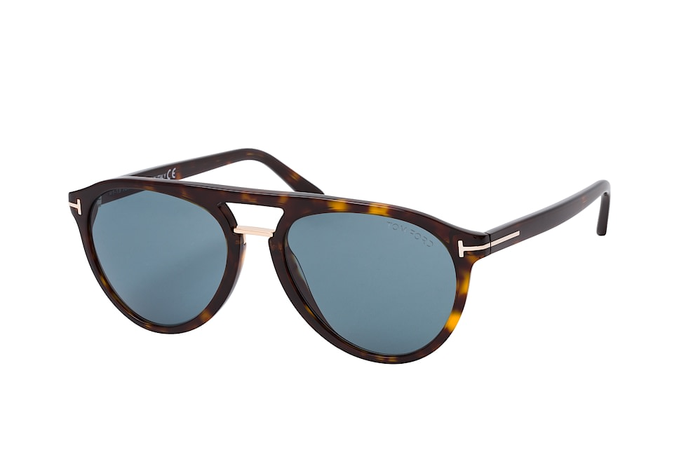 TOM Ford FT 0697, Aviator Sonnenbrillen, Havana