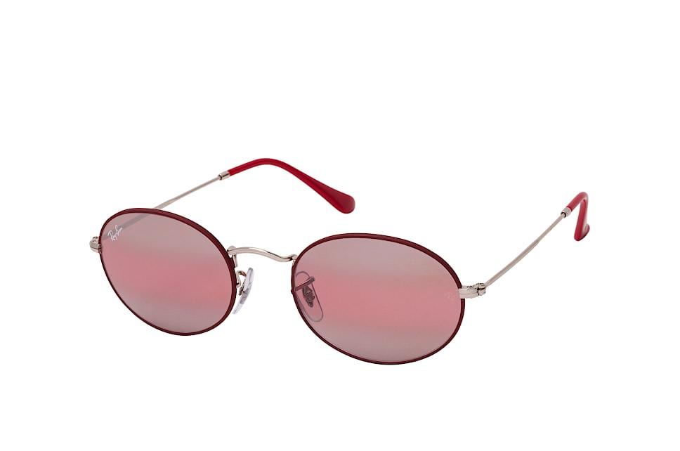 RB 3547, Round Sonnenbrillen, Rot