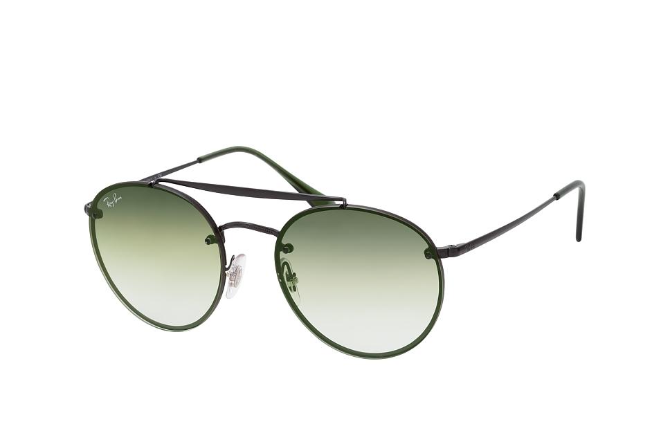 RB 3614N, Round Sonnenbrillen, Schwarz