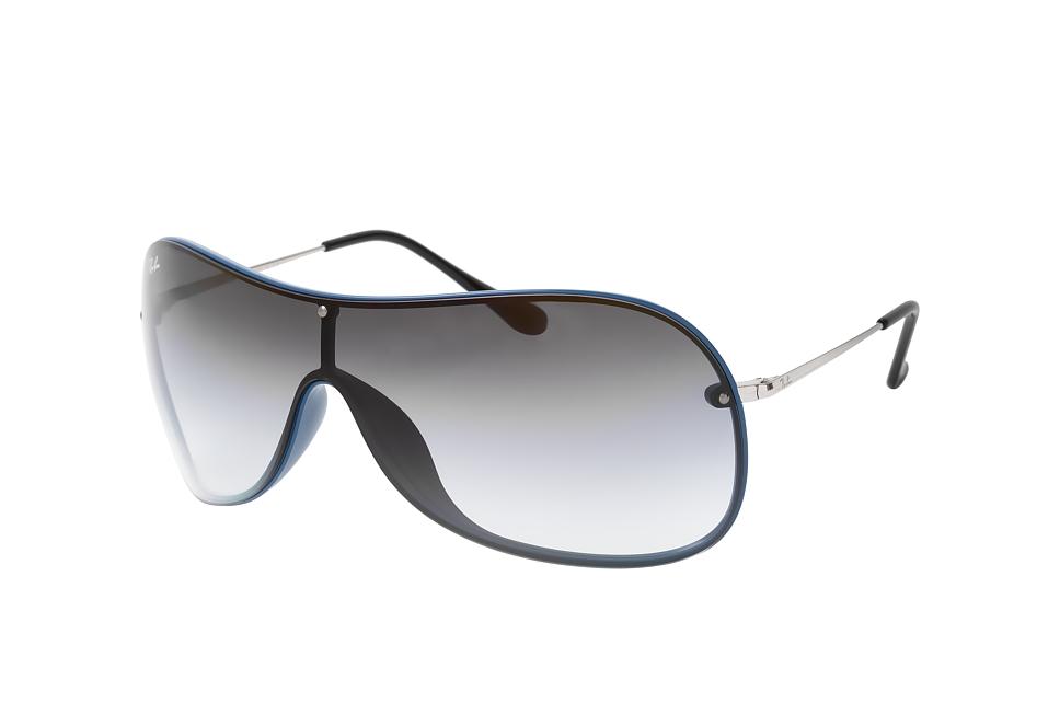 RB 4411, Singlelens Sonnenbrillen, Blau