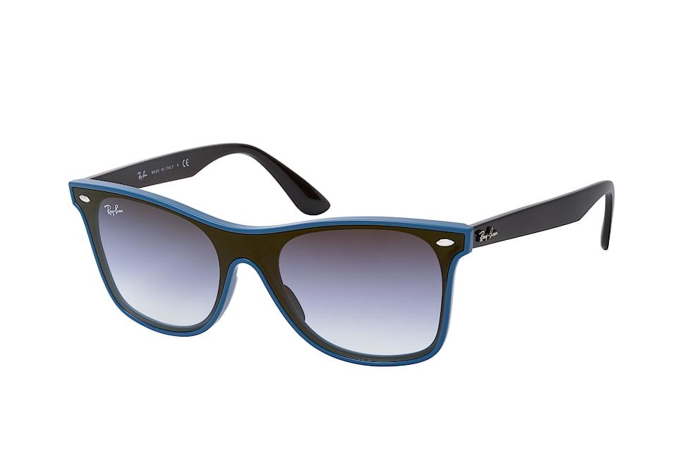 Blaze Wayfarer RB 4440N 64170S, Singlelens Sonnenbrillen, Blau