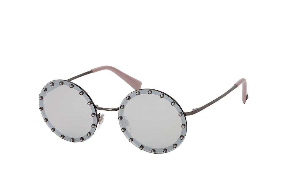 VA 2010B, Round Sonnenbrillen, Silber