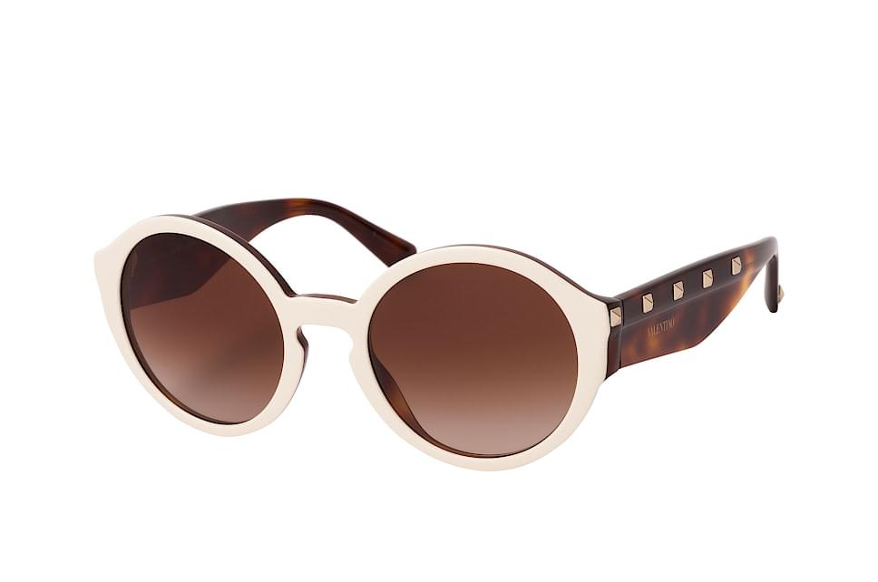 VA 4047, Round Sonnenbrillen, Beige