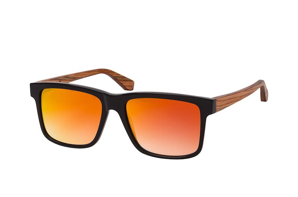 Morgan 2090 002, Square Sonnenbrillen, Schwarz