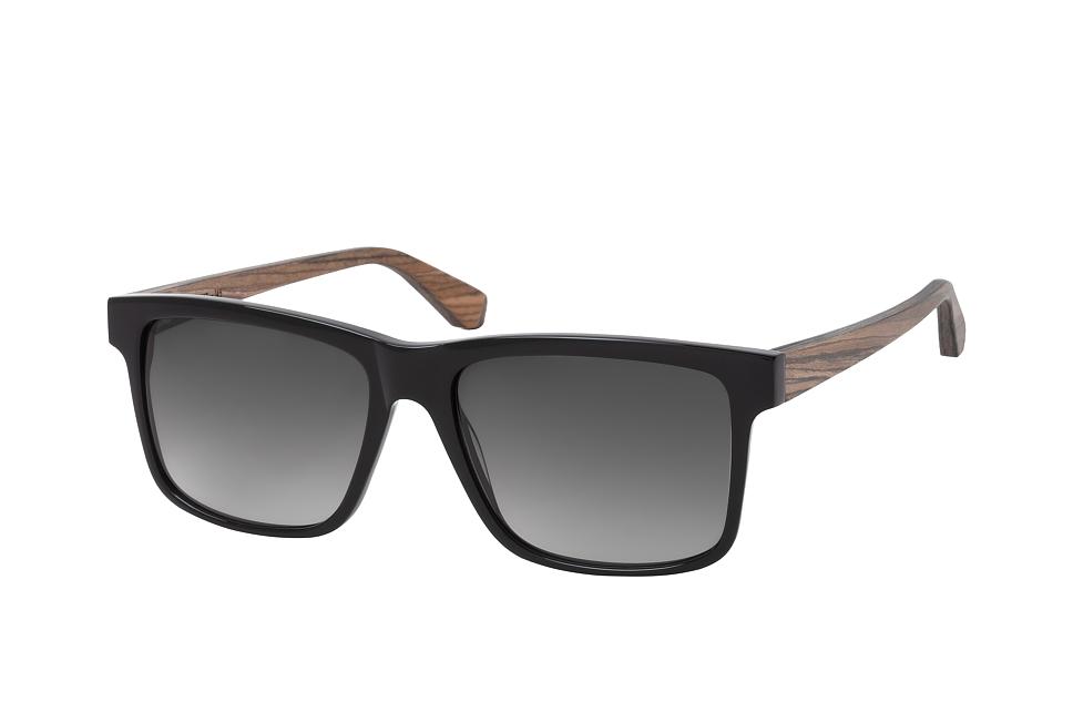 Morgan 2090 001, Square Sonnenbrillen, Schwarz