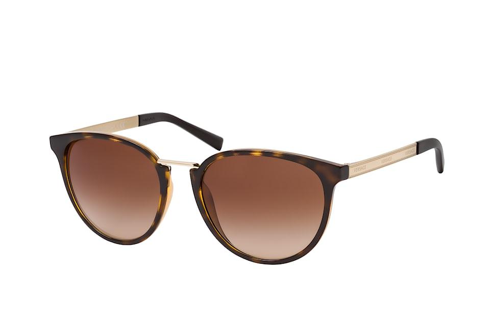 versace -  VE 4366 108/13, Runde Sonnenbrille, Damen, in Sehstärke erhältlich
