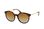 Burberry BE 4296 3816T5 Havana / Dorado / Marrón perspective view thumbnail