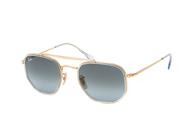 Ray-Ban THE MARSHAL RB 3648 M 91233M vue en perpective