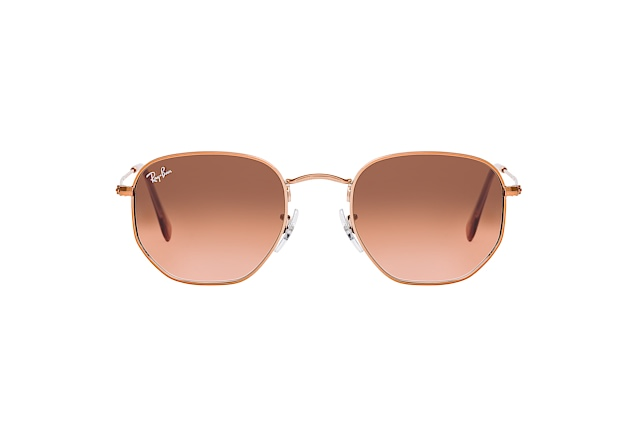 Ray-Ban HEXAGONAL RB 3548 N 9069A5 vista en perspectiva