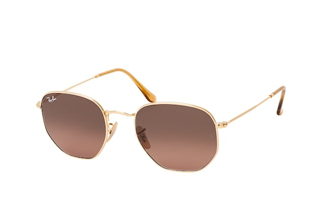 Ray-Ban HEXAGONAL RB 3548 N 912443 vista en perspectiva