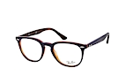 Ray-Ban RX 7159 5909 small Blauw / Havana perspective view thumbnail