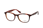 Ray-Ban RX 5356 5765 Brown / Havana perspective view thumbnail