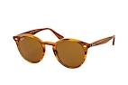 Ray-Ban RB 2180 710/V0 large Braun / BraunPerspektivenansicht Thumbnail