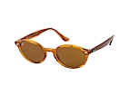 Ray-Ban RB 4315 643087 Havana / Rood / Bruin / Bruin perspective view thumbnail