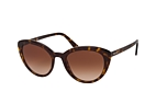 Prada CATWALK PR 02VS 7S30A7 Havana / Brown perspective view thumbnail