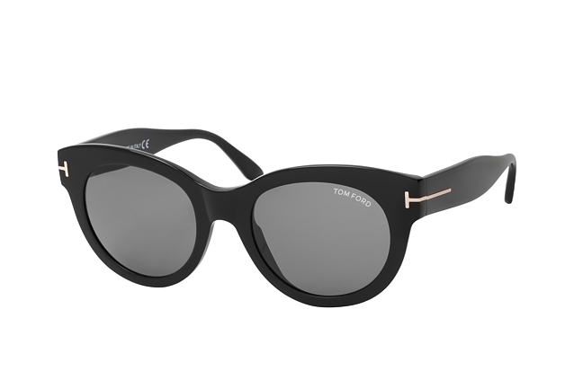 Tom Ford Lou FT 0741 01A perspective view
