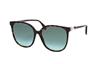 Fendi FF 0374/S 807 Havana / Green perspective view thumbnail