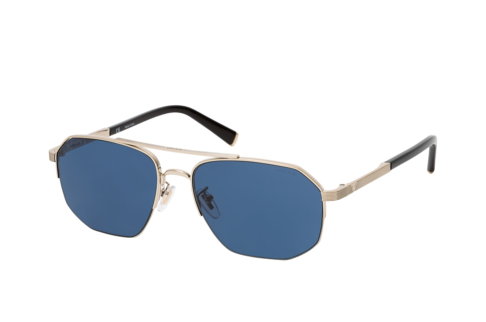 police -  LEWIS SPLA 25 0594, Quadratische Sonnenbrille, Herren