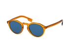 Burberry BE 4280 3757/87 Orange / Bleu vue en perpective Thumbnail
