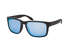 Oakley Holbrook XL OO 9417 05 Marrón / Lila perspective view thumbnail