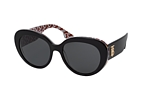 Burberry BE 4298 3822 Black / Grey perspective view thumbnail