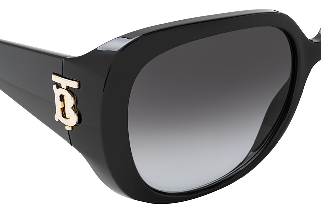 Burberry BE 4303 3001 vue en perpective
