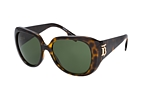 Burberry BE 4303 3001 Havana / Green perspective view thumbnail