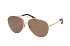 Burberry BE 3113 1017 Gold / Brown perspective view thumbnail