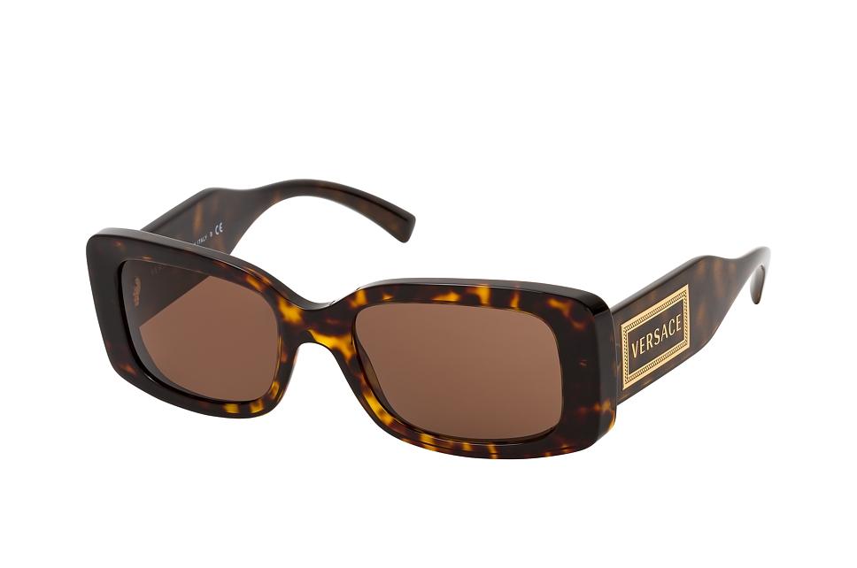 versace -  VE 4377 108/73, Quadratische Sonnenbrille, Damen, in Sehstärke erhältlich