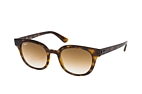 Ray-Ban RB 4324 6447 Havana / Brown perspective view thumbnail