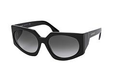 Burberry i store størrelser Svart Solbriller BE4216 3001T3