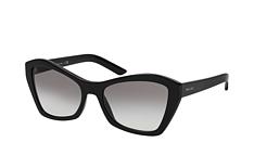 Prada PR 07XS 1AB0, Cat Eye Sonnenbrille, Damen, in Sehstärke erhältlich - Preisvergleich