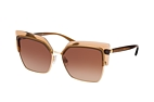 Dolce&Gabbana DG 6126 5374 Brown / Gold / Brown perspective view thumbnail