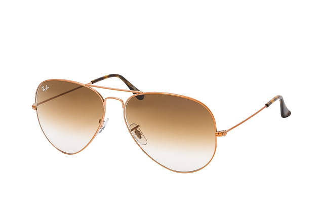 Ray-Ban Aviator RB 3025 9035 large vista en perspectiva