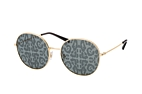 Dolce&Gabbana DG 2243 02/P Gold / Grey perspective view thumbnail