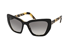 Prada CATWALK PR 08VS 2AU8C1 Havana / Black / Grey perspective view thumbnail