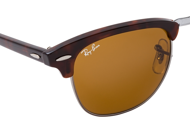 Ray-Ban Clubmaster RB 3016 W3388 small vista en perspectiva