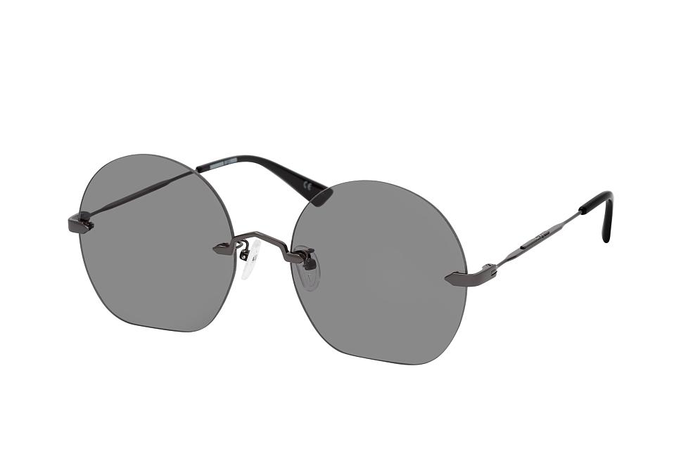 mcq -  MQ 0224SA 001, Runde Sonnenbrille, Damen