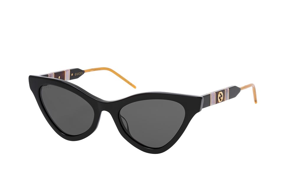 gucci -  GG 0597S 001, Cat Eye Sonnenbrille, Damen, in Sehstärke erhältlich