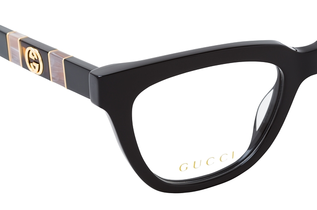 Gucci GG 0601O 001 perspective view