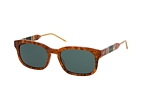Gucci GG 0602S 003 Havana / Verde perspective view thumbnail